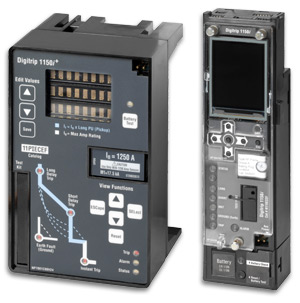 System diagnostics with Digitrip 1150, for series NRX and IZM26