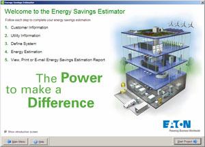 energy savings estimator