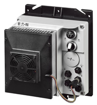 Frequency controlled motor starter RASP with fan unit