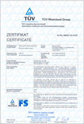 TÜV LSE-AU certification