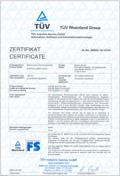 TÜV-Zertifikat LSE-AU