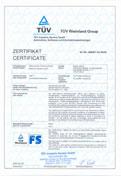 TÜV-Zertifikat LSE-AI