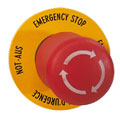 Emergency-Stop buttons